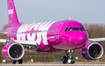 WOW Air Airbus A320-251N (D-AUBC) at  Hamburg - Finkenwerder, Germany
