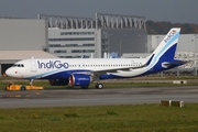IndiGo Airbus A320-251N (D-AVVK) at  Hamburg - Finkenwerder, Germany