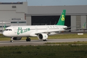 Spring Airlines Airbus A321-253NX (D-AVXL) at  Hamburg - Finkenwerder, Germany