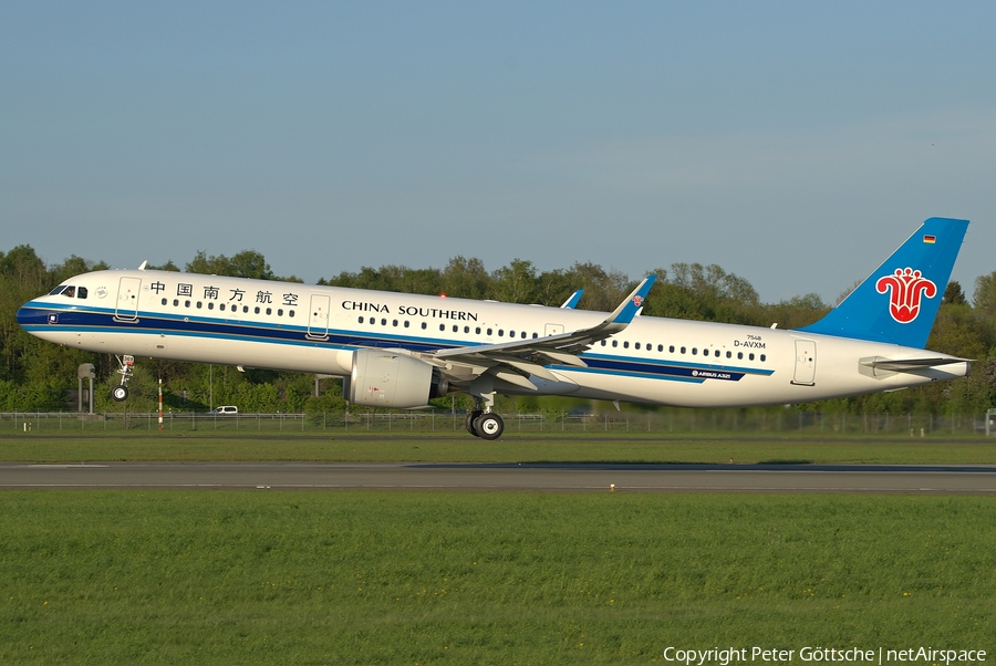 China Southern Airlines Airbus A321-271N (D-AVXM) | Photo 241750