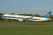 China Southern Airlines Airbus A321-271N (D-AVXM) at  Hamburg - Fuhlsbuettel (Helmut Schmidt), Germany
