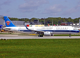 China Southern Airlines Airbus A321-271N (D-AVXM) at  Hamburg - Finkenwerder, Germany