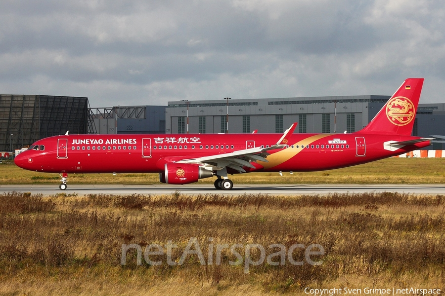 Juneyao Airlines Airbus A321-231 (D-AVXM) | Photo 90730