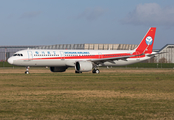 Sichuan Airlines Airbus A321-271N (D-AVXM) at  Hamburg - Finkenwerder, Germany