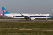 China Southern Airlines Airbus A321-253NX (D-AVXW) at  Hamburg - Finkenwerder, Germany