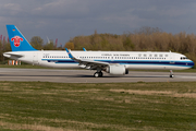 China Southern Airlines Airbus A321-253NX (D-AVYC) at  Hamburg - Finkenwerder, Germany