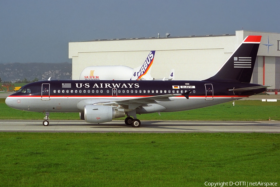 US Airways Airbus A319-112 (D-AVYF) | Photo 365291