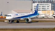 All Nippon Airways - ANA Airbus A320-272N (D-AVYK) at  Hamburg - Finkenwerder, Germany
