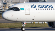Air Astana Airbus A321-271NX (D-AVYQ) at  Hamburg - Finkenwerder, Germany