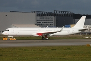 Capital Airlines Airbus A321-251NX (D-AVYQ) at  Hamburg - Finkenwerder, Germany