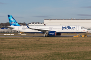 JetBlue Airways Airbus A321-271NX (D-AVYT) at  Hamburg - Finkenwerder, Germany