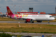 Juneyao Airlines Airbus A321-271NX (D-AVYW) at  Hamburg - Finkenwerder, Germany