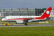 Sichuan Airlines Airbus A319-133 (D-AVYZ) at  Hamburg - Finkenwerder, Germany