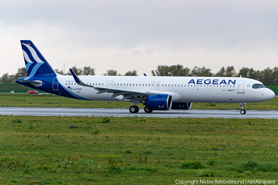 Aegean Airlines Airbus A321-271NX (D-AVZD) | Photo 408765