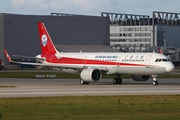 Sichuan Airlines Airbus A321-271N (D-AVZF) at  Hamburg - Finkenwerder, Germany