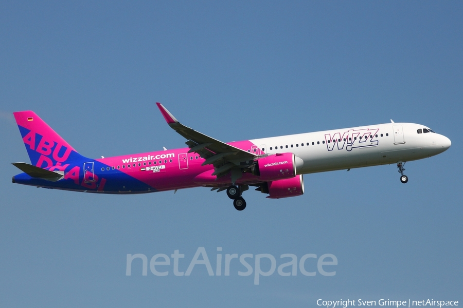 Wizz Air Abu Dhabi Airbus A321-271NX (D-AVZJ) | Photo 397777