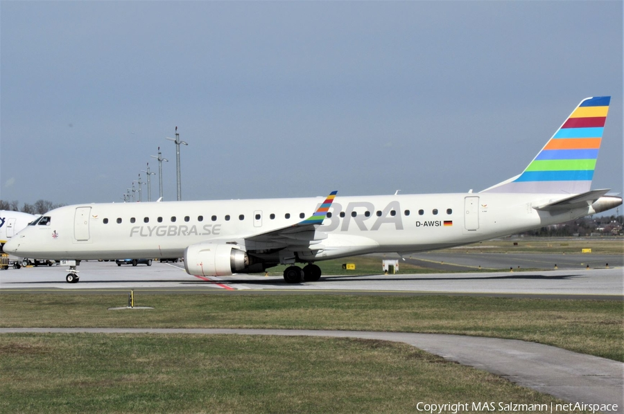 WDL Aviation Embraer ERJ-190LR (ERJ-190-100LR) (D-AWSI) | Photo 377351