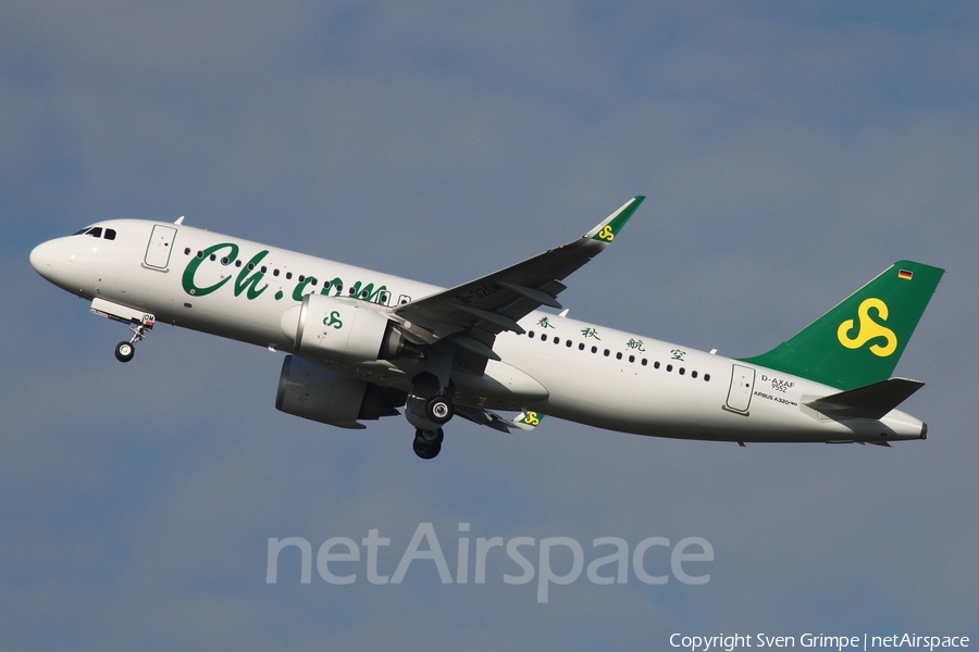 Spring Airlines Airbus A320-251N (D-AXAF) | Photo 406561