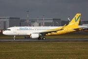 Vanilla Air Airbus A320-214 (D-AXAJ) at  Hamburg - Finkenwerder, Germany