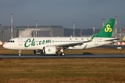 Spring Airlines Airbus A320-251N (D-AXAR) at  Hamburg - Finkenwerder, Germany