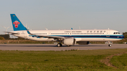 China Southern Airlines Airbus A321-253NX (D-AYAI) at  Hamburg - Finkenwerder, Germany