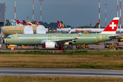 Swiss International Airlines Airbus A321-271NX (D-AYAO) at  Hamburg - Finkenwerder, Germany