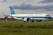 China Southern Airlines Airbus A321-253NX (D-AYAS) at  Hamburg - Finkenwerder, Germany