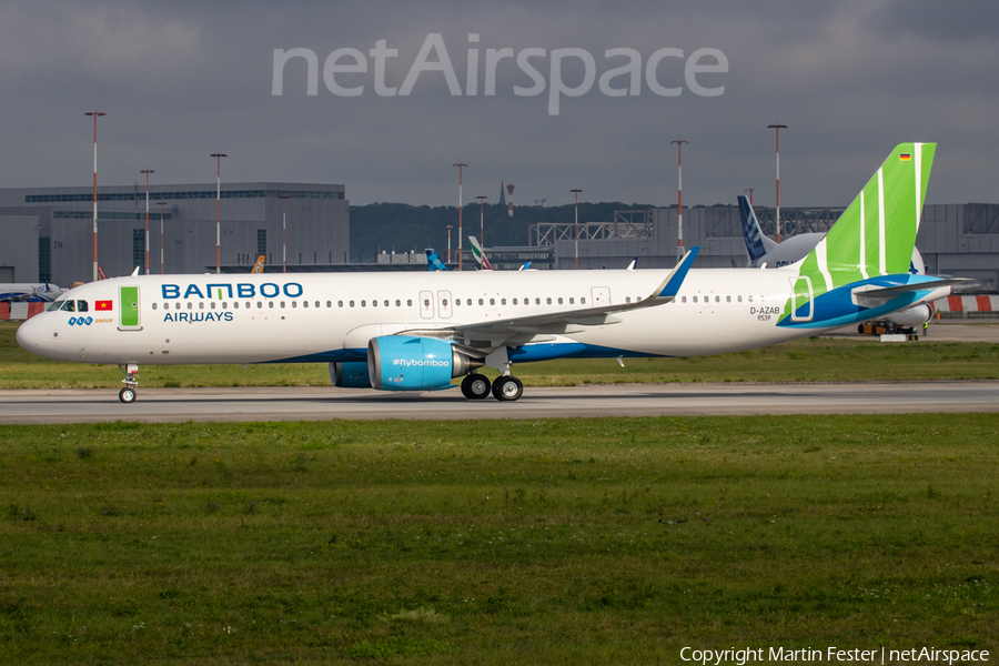 Bamboo Airways Airbus A321-251NX (D-AZAB) | Photo 401181