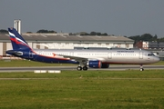 Aeroflot - Russian Airlines Airbus A321-211 (D-AZAD) at  Hamburg - Finkenwerder, Germany