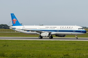 China Southern Airlines Airbus A321-231 (D-AZAF) at  Hamburg - Finkenwerder, Germany