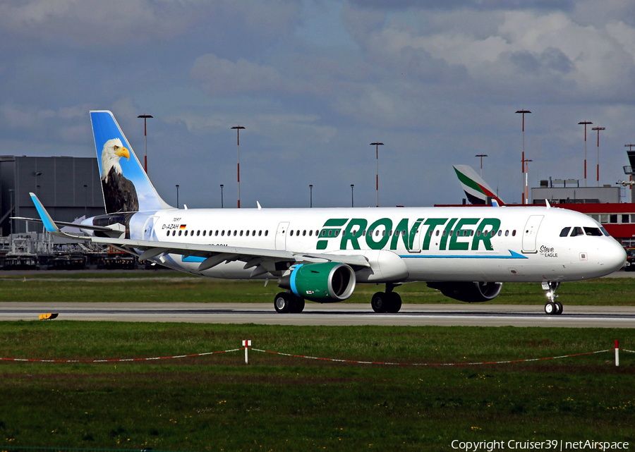 Frontier Airlines Airbus A321-211 (D-AZAH) | Photo 154780