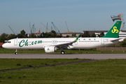 Spring Airlines Airbus A321-253NX (D-AZAU) at  Hamburg - Finkenwerder, Germany