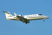Quick Air Jet Charter Learjet 55 (D-CMED) at  Hamburg - Fuhlsbuettel (Helmut Schmidt), Germany