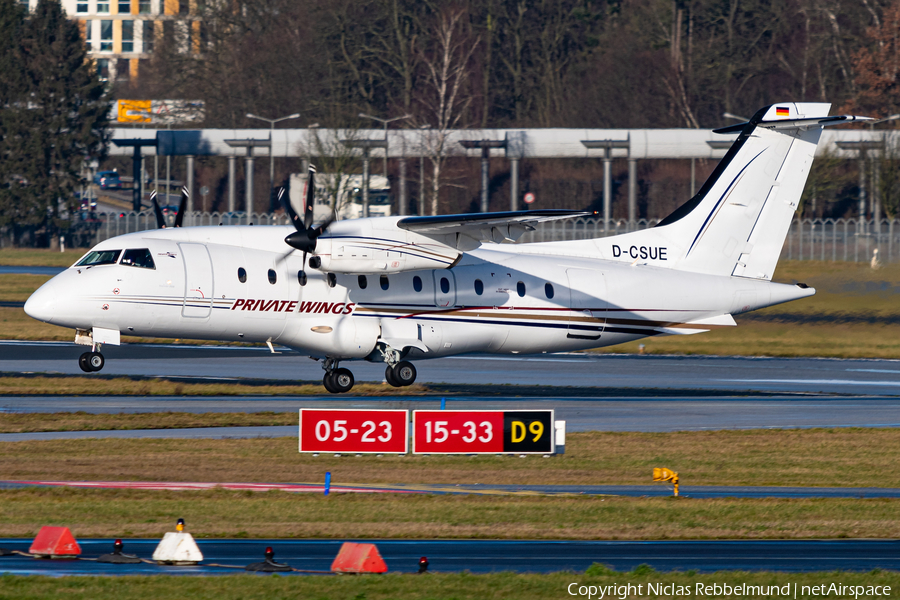 Private Wings Flugcharter Dornier 328-110 (D-CSUE) | Photo 421456