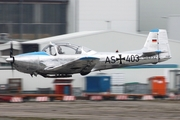 (Private) Piaggio P.149D (D-EFYZ) at  Hamburg - Finkenwerder, Germany