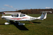 (Private) Diamond DA40 Diamond Star (D-EGCR) at  Itzehoe - Hungriger Wolf, Germany