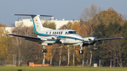 (Private) Beech King Air B200 (D-ICHG) at  Hamburg - Fuhlsbuettel (Helmut Schmidt), Germany
