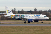FlyBosnia Airbus A319-112 (E7-FBA) at  London - Luton, United Kingdom