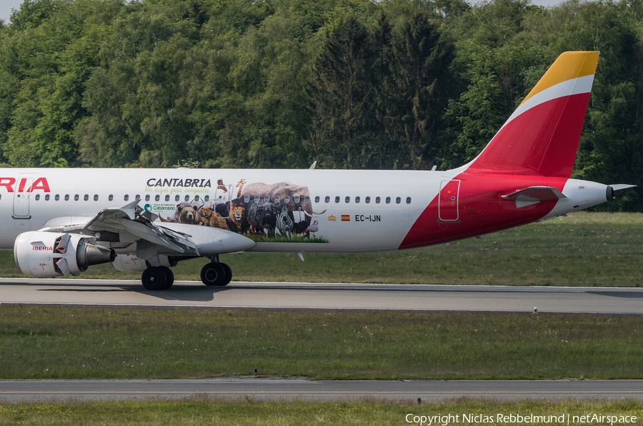 Iberia Airbus A321-211 (EC-IJN) | Photo 320888