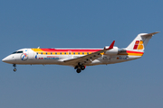 Iberia Regional (Air Nostrum) Bombardier CRJ-200ER (EC-IJS) at  Barcelona - El Prat, Spain