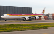 Iberia Airbus A340-642 (EC-JLE) at  Madrid - Barajas, Spain