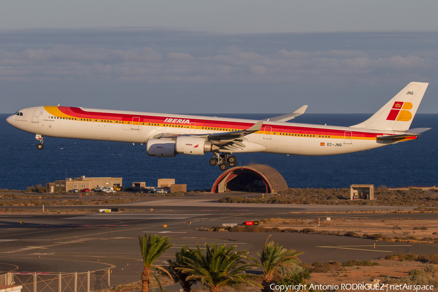 Iberia Airbus A340-642 (EC-JNQ) | Photo 353082