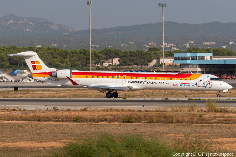 Iberia Regional (Air Nostrum) Bombardier CRJ-900ER (EC-JZS) | Photo 204768