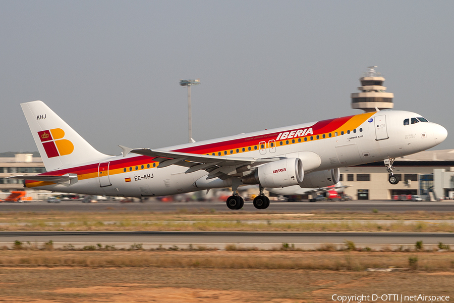 Iberia Airbus A320-214 (EC-KHJ) | Photo 204770