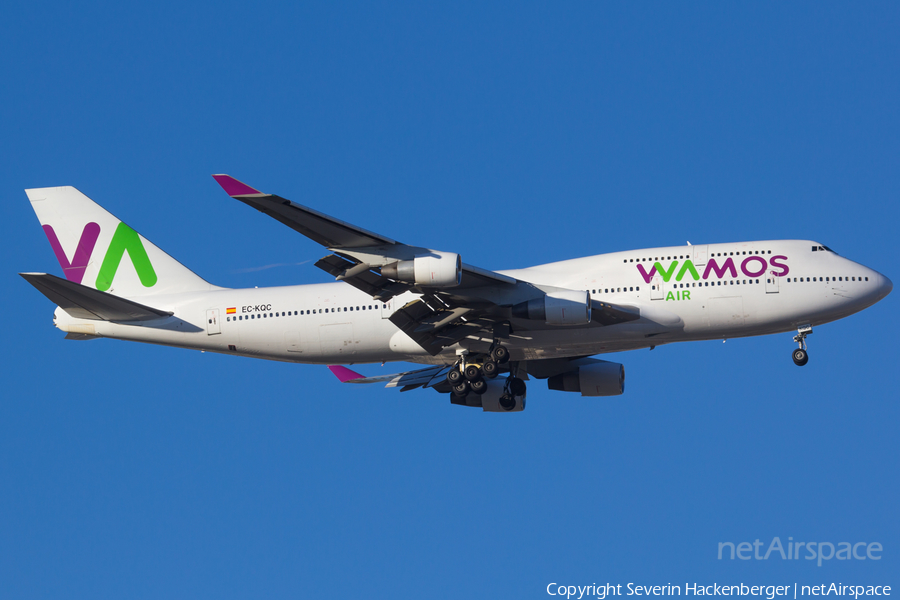 Wamos Air Boeing 747-412 (EC-KQC) | Photo 191756