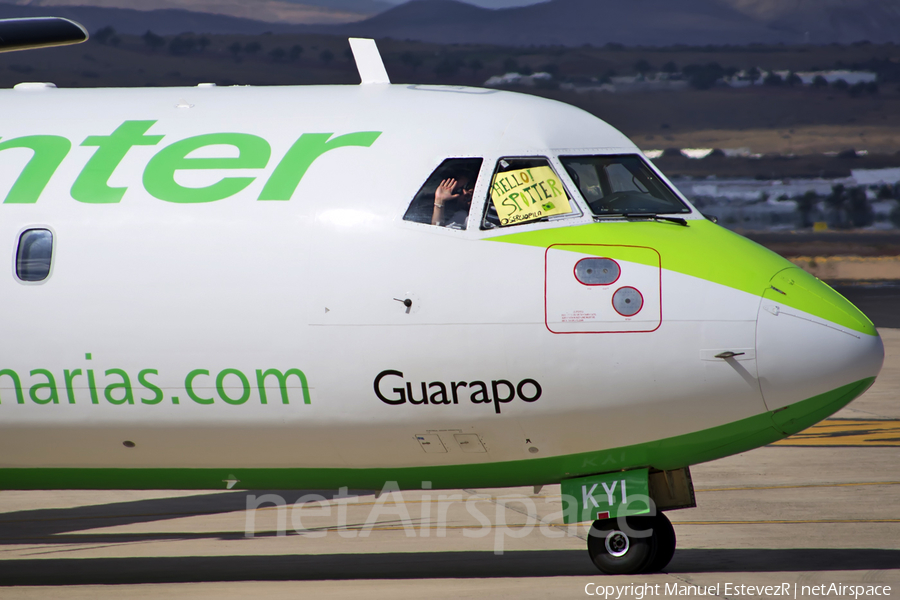 Binter Canarias ATR 72-500 (EC-KYI) | Photo 157483