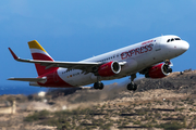 Iberia Express Airbus A320-216 (EC-LYM) at  Gran Canaria, Spain