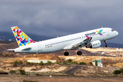 Gowair Vacation Airlines Airbus A320-214 (EC-MQH) at  Tenerife Sur - Reina Sofia, Spain
