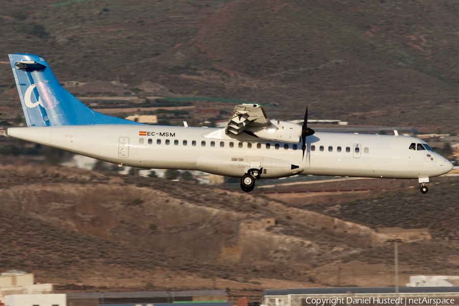 Canaryfly ATR 72-500 (EC-MSM) | Photo 413008