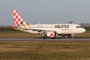 Volotea Airbus A319-112 (EC-NDG) at  Hamburg - Finkenwerder, Germany